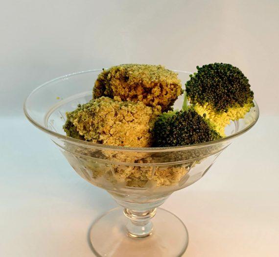 Broccoli ice cream aka dip