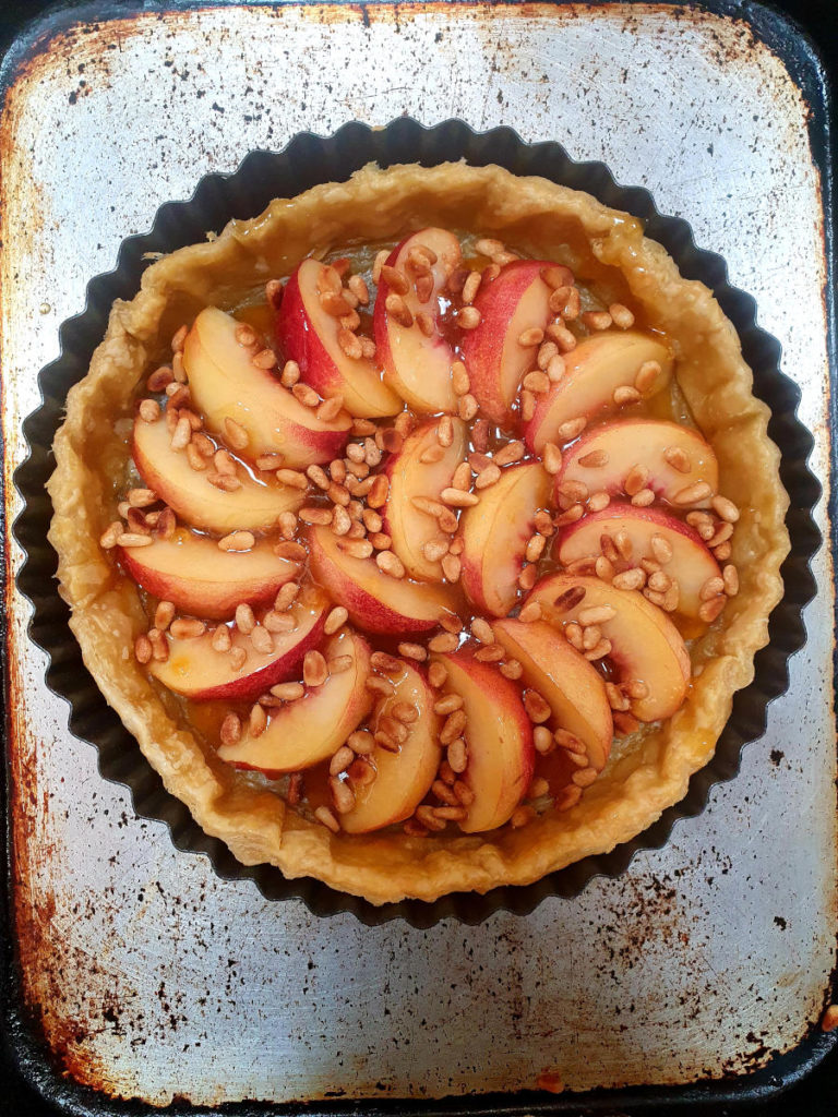 Ready to bake tart