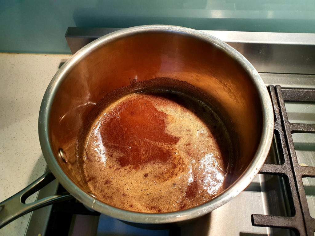 honey caramel process 3