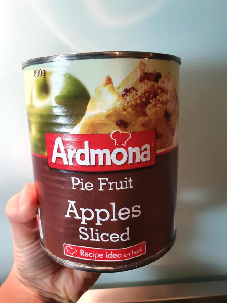 Tinned apple