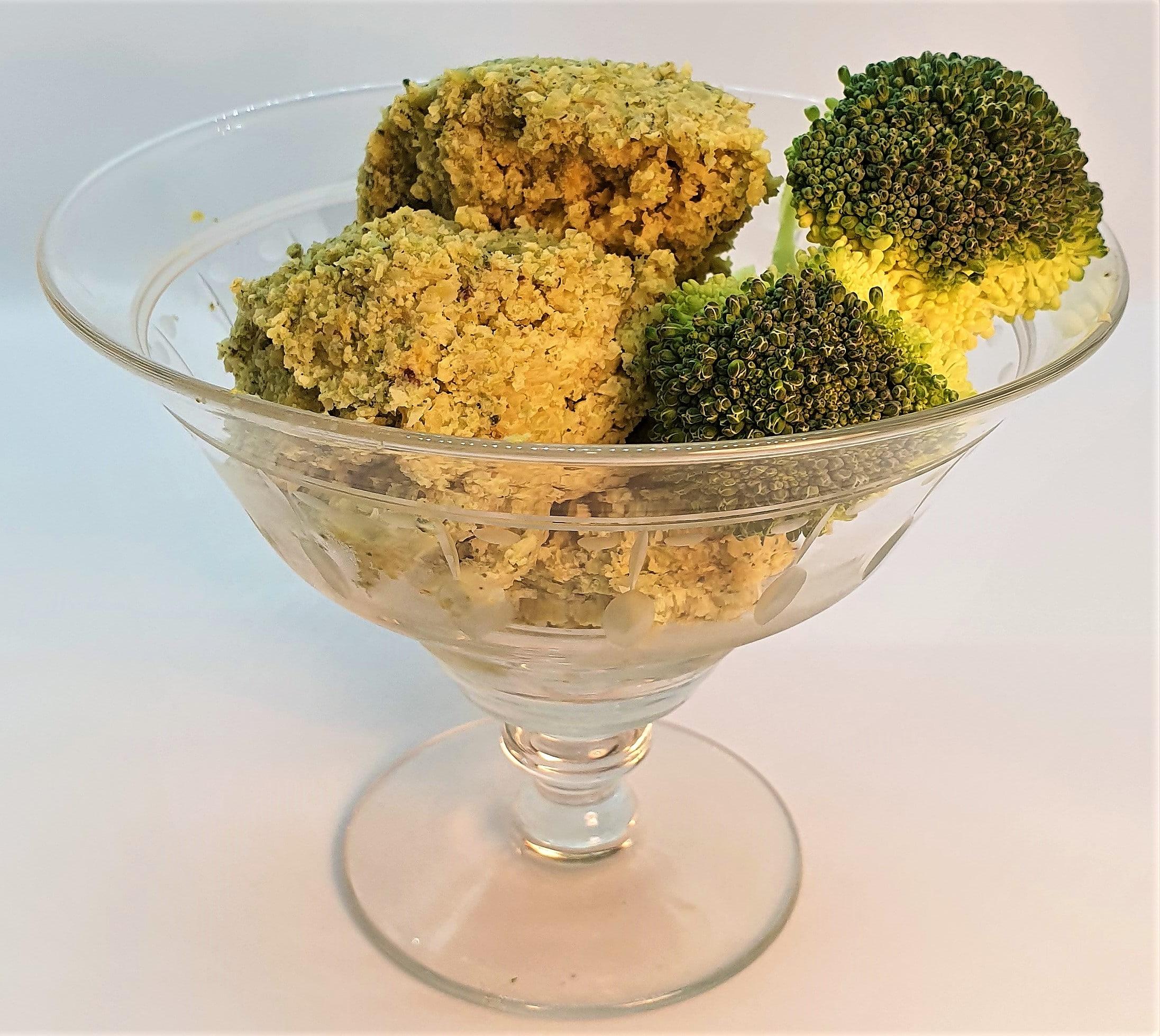 Broccoli ice cream