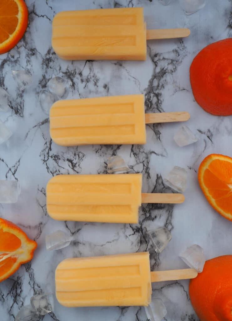 Easy tangelo creamsicles verticle