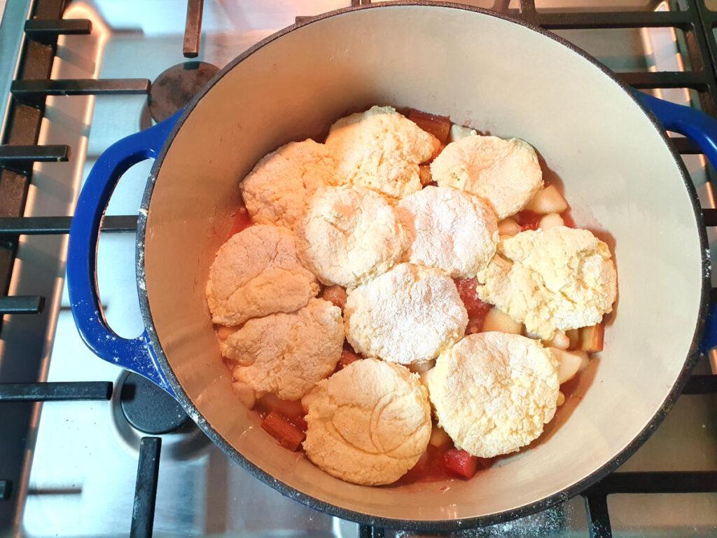 Ready to bake cobbler