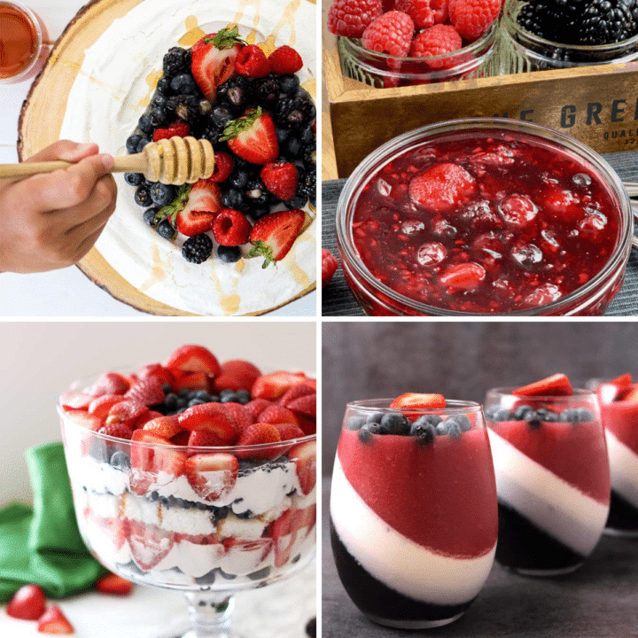 21 Fresh summer fruit desserts