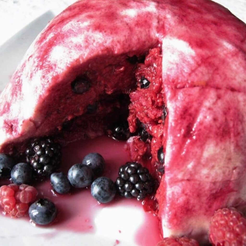 Easy english summer pudding